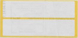 Vignette Expérimentale - Carnet TF3A A Daté 18-6-97 (léger Pli Vertical Sur 2 Timbres) - Carnets