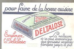 Buvard DELTALOSSE Pour Faire De La Bonne Cuisine Huile DARRIER DE ROUFFIO MARSEILLE - Food