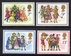 GREAT BRITAIN GB - 1978 CHRISTMAS SET (4V) FINE MNH ** SG 1067-1070 - 1952-.... (Elizabeth II)
