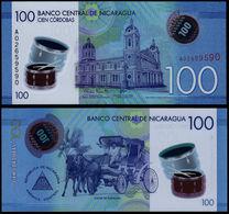 Nicaragua 100 Cordobas 2015 - FDS UNC Polymer - Nicaragua