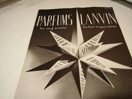 ANCIENNE PUBLICITE PARFUM DE LANCOME 1941 - Perfume & Beauty