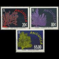 ANGUILLA 1996 - Scott# 941-3 Corals Set Of 3 MNH - Anguilla (1968-...)