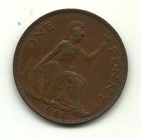 1948 - Gran Bretagna 1 Penny, - 1902-1971 : Monete Post-Vittoriane