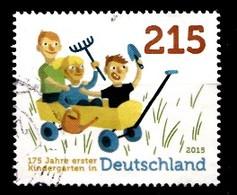 Bund 2015  Mi.nr.:3158 Kinder In Bollerwagen  Gestempelt / Oblitérés / Used - [7] République Fédérale