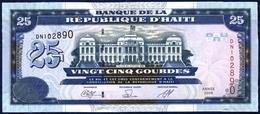 HAITI 25 GOURDES P-266d Palace Of Justice Port-au-Prince 2009 UNC - Haïti