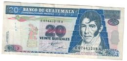 Guatemala 20 Quetzales 18/06/1995  .J. - Guatemala