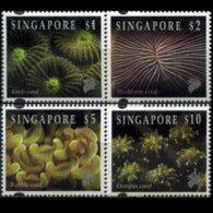 SINGAPORE 1994 - Scott# 682-4A Corals $1-10 MNH - Singapore (1959-...)