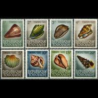 TOGO 1964 - Scott# J56-63 Sea Shells Set Of 8 MNH - Togo (1960-...)