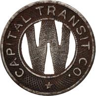États-Unis, Washington D.C., Capital Transit Co., Jeton - Professionnels/De Société