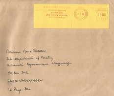"Cote D'Ivoire Ivory Coast 1999 Yamoussoukro Post Office Meter Secap ""NE"" 94328 EMS Slogan EMA Cover - Ivoorkust (1960-...)"