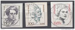 West-Duitsland - 10.000 Zegels - Frauen Der Deutschen Geschichte - O - Onafgeweekt/op Fragment - Postzegels