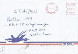 "Cote D'Ivoire Ivory Coast 2011 Daloa Post Office Meter Secap ""NE"" 93897 EMA Cover - Ivoorkust (1960-...)"