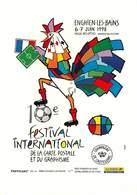 Illustrateur Petey - Enghien Les Bains - Sports - Football - Coupe Du Monde 1998 - Autographe - Signature - Petey