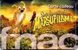 @+ Carte Cadeau - Gift Card : FNAC - Marsupilami - France