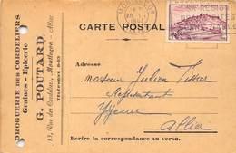 03-MONTLUCON- DROGUERIE DES CORDELIERS- GRAINES- EPICERIE- G. POUTARD - - Montlucon