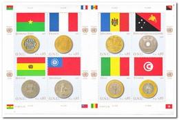 Geneve 2007, Postfris MNH, Flags, Coins - Genève - Kantoor Van De Verenigde Naties