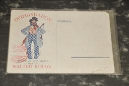 3276  Refrain   Bubi!   Aus Der Posse    Der Juxbaron - Walter Kollo - Mellini-Theater Hannover - Cartoline