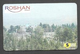USED PHONECARD AFGHANISTAN - Afghanistan