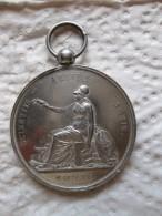 Medaille En Argent Ecole De Soreze 1816 - France