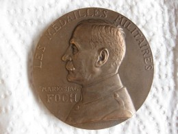 Medaille Marechal FOCH , Attribuée à DAIRIN MARTAIN Par G. PRUD'HOMME - France