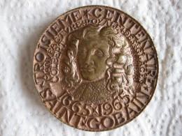 MEDAILLE .3e CENTENAIRE SAINT GOBAIN 1665-1965, COLBERT. Par JAEGER - France