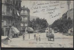 Sete - Cette - Avenue Victor Hugo - Sete (Cette)