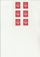 FEUILLET DE 6 VIGNETTES PHILEXFRANCE 1982 - Philatelic Fairs