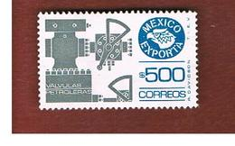 MESSICO (MEXICO) -  SG 1360ib   - 1984    MEXICAN EXPORTS:   PETROLEUM VALVES         -  USED° - Messico