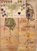 (C).Siena.Set Completo Dei Paggi Delle 17 Contrade Storiche Illustrate Da Anichini (c18) - Siena
