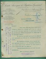 44 Nantes  85 Antiére Cne De Cugand 44 Chantenay Sur Loire Gouraud Papeterie 7 11 1900 - Printing & Stationeries