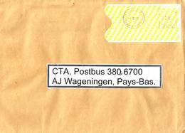 "Cote D'Ivoire Ivory Coast 2010 Abidjan 01 Post Office Meter Secap ""NE"" 94330 EMA Cover - Ivoorkust (1960-...)"
