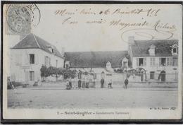 Saint Gaultier - Gendarmerie Nationale (pli) - France