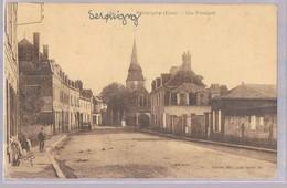 SERQUIGNY . Rue Principale . - Serquigny
