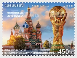 Armenië / Armenia - Postfris / MNH - WK Voetbal 2018 - Armenië