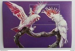 Zambia 1998** Bl.42. Parrots MNH [12;87] - Oiseaux