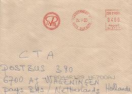 Cote D'Ivoire Ivory Coast 2000 Yamoussoukro Meter Satas SJ 9717 Institut National Polytechnique Félix Houphoet EMA Cover - Ivoorkust (1960-...)