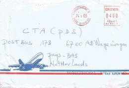 Cote D'Ivoire Ivory Coast 2003 Yamoussoukro Meter Satas SJ 9717 Institut National Polytechnique Félix Houphoet EMA Cover - Ivoorkust (1960-...)