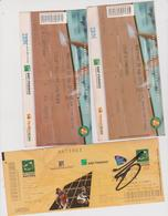 Vieux Papier : Ticket : Tennis  Paris :  ROLAND  GARROS  2010 ( 2 Billets) Et  Masters  2008 - Tickets - Vouchers