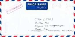 "Cote D'Ivoire Ivory Coast 2003 Abidjan 08 Meter Secap ""NE"" 94743 INADES EMA Cover - Ivoorkust (1960-...)"