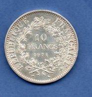 France - 10 Francs 1971     -  état  SUP - Francia