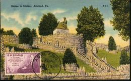 38071 U.s.a. Maximum 1950 In Memory Of The Mothers Of America, Ashland, Pa. - Maximumkarten (MC)