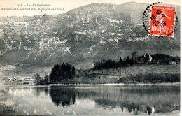 73. Lac D'aiguebelette. Château De Chambost Et La Montagne De L'épine - Autres Communes