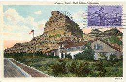 38072 U.s.a. Maximum 1954,  Nebraska Territoryal Centennial - Maximumkarten (MC)