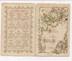 Calendrier Spirituel  2 Volets  N° 104 - Non Classés