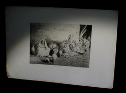 [MAROC CADART] TOMMASI (E.) - Marchands à Tanger. - Prints