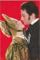 5-CARD PUBBLICITARIA FILM SINFONIA D'AMORE-CLAUDE LYDE-MARINA VLADY - Actors