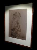 BOUFFAY (Régis) - [Fusain Signé]. - Drawings