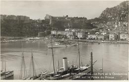 5-1419-MONACOLE PORT E LA CONDAMINE-VUE SUR LE PALIS DU PRICE(NAVI IN PORTO) - Monte-Carlo