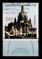 Bund 2016  Mi.nr.:3219 Geburtstag Von George Bähr  Gestempelt / Oblitérés / Used - [7] West-Duitsland