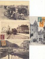 T.BON LOT DE 125 CPA DE FRANCE.DONT 64 ANIMEES.T.BON ETAT DES CARTES.A SAISIR. PORT : 5.00E - Postcards